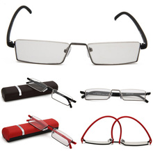 High Quality HD Reading Glasses Antifatigue TR90 Half Frame Portable for Women Men 1.5 2.0 2.5 3.0 3.5