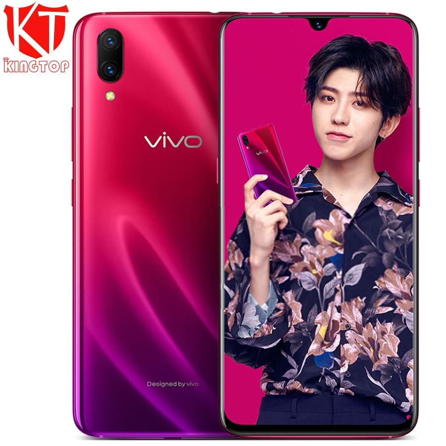 Original New VIVO X23 Mobile Phone 8GB RAM 128GB ROM Snapdragon Octa core Full Screen Dual Rear Camera 4G LTE Cell phone