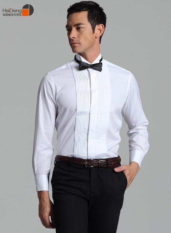 2015 free shipping male formal dress shirt dinner male for Men s wedding dress shirts