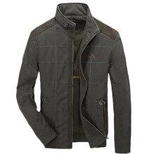 Новый стенд воротник военные куртки пальто Для мужчин jaqueta Инверно осень AFS джип Повседневное Для мужчин куртка армии casaco militar