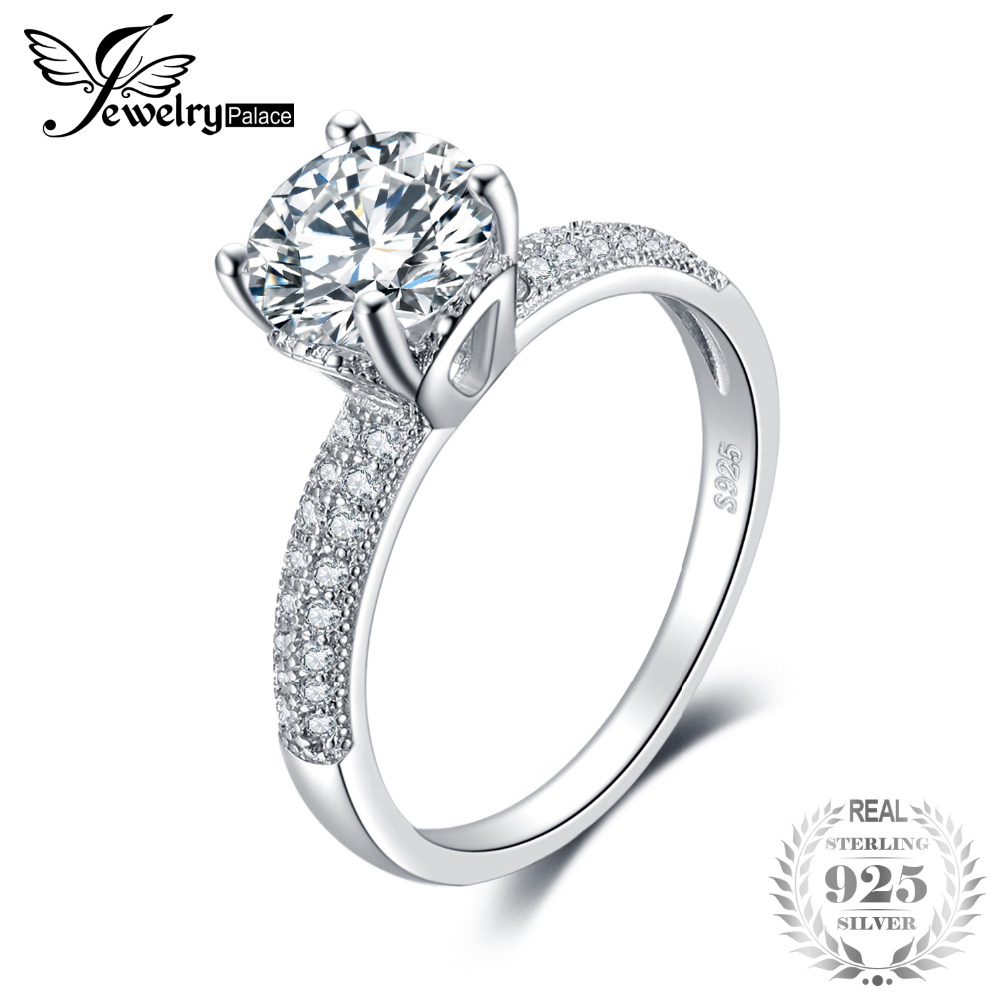 JewelryPalace Infinity Forever Love Anniversary Cubic Zirconia Finger Ring For Women Genuine 925 Sterling Silver Valentine GiftJewelryPalace Infinity Forever Love Anniversary Cubic Zirconia Finger Ring For Women Genuine 925 Sterling Silver Valentine Gift