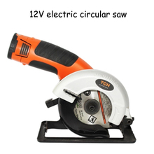 Electric Wood/ Ceramic Tile Circular Saw Charging 12V Woodworking Tools Wood  Cutting Machine Handheld Wood Saw M9187