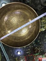 Непал Тибетский большой Поющая чаша Индии Юга музыка молитвенная Чаша Тибет шесть слов матрешки 25 см тибетский буддийский вещи чаша
