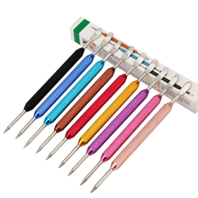 ROKENE Stainless Steel Art Pen Tool Coffee Latte Foam Needle Spatula Barista 9 Colors