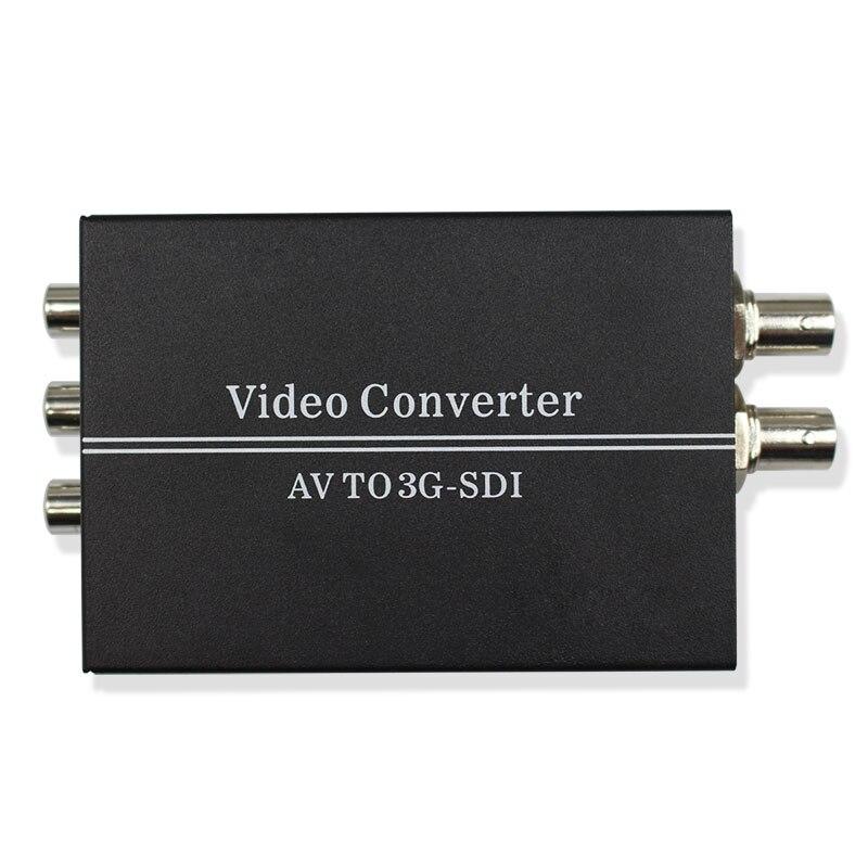 AV CVBS PAL/NTSC к HD SD 3g SDI BNC конвертер Composite RCA для SD-SDI HD-SDI 3g-SDI видео L/R аналоговый аудио конвертер для HDTV