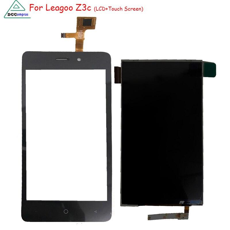 D'origine Pour Leagoo Z3C LCD Affichage à L'écran Tactile Digitizer Assemblée Remplacement Pour Leagoo Z3C Téléphone Pièces Outils Gratuits