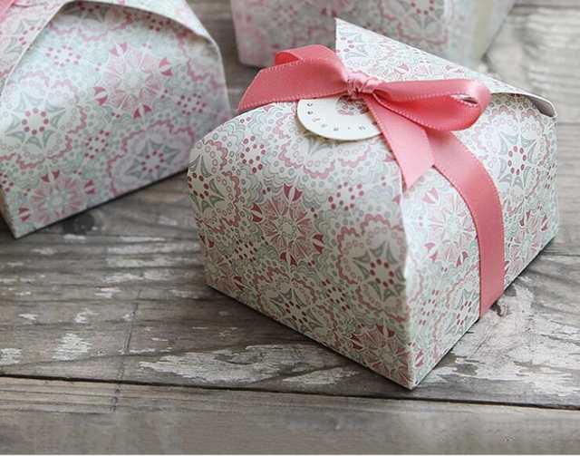 Us 1026 21 Offkreativ Gebäck Geschenk Hochzeit Bevorzugungen Pralinenschachtel Baby Gezeigt Party Event Geschenk Macarons Kuchen Verpackung Box