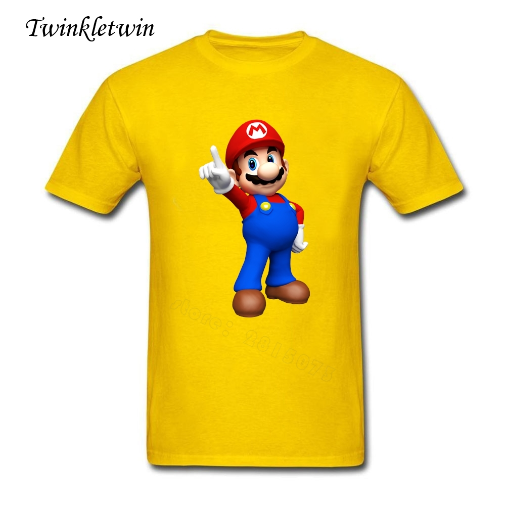 Design t shirts of your own - Design Your Own T Shirt Men Super Mario Tee Shirt Male Casual Straight T Shirt