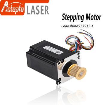 цена на Leadshine 3 phase Stepper Motor 573S15 573S15-L for NEMA23 5.8A length 76mm Shaft 8mm