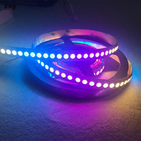 2016 best price 144leds/m built in ws2812b upgraded WS2813(Dual signal wires) individually Smart 5050 144 led pixel strip DC5V