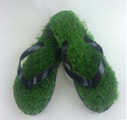 59c385a5c 2017 new lady flip flops imitation turf word slippers 35 44 free shipping-in  Slippers from Shoes on Aliexpress.com