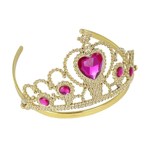 ̀ •́ Princess Tiaras With Heart Stones - a313 5b14b3610ab4