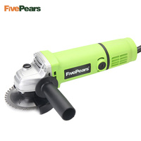 FivePears Angle grinder Electric Power Tool Polisher Angular Grinder 100 mm Angle Grinding Machine Electric Hand Mill