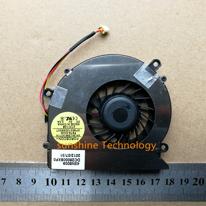 New Laptop CPU Cooling Fan For Acer Aspire 5220 5310 5315 5520 5720 DC280003SF0