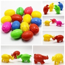 New Children puzzle assembled novelty deformation dinosaur eggs interesting small toys fun gift can be wholesale