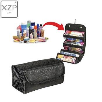 XZP 2019 Traveling Hanging Cosmetic Bag Women Zipper Case Letter Make Up Makeup Bags Necessaries Storage Organizer Toilet Bag