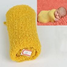 35*150cm Stretch Knit Wrap Newborn Photography Props Baby Kids Nubble Rayon Wraps Maternity Scarf Hammock Swaddlings Women Shawl