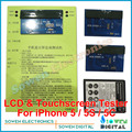 3 in1 LCD display & Digitizer Touch screen touchscreen Tester test board for iPhone 5 5G 5S 5C,Top version,DHL EMS