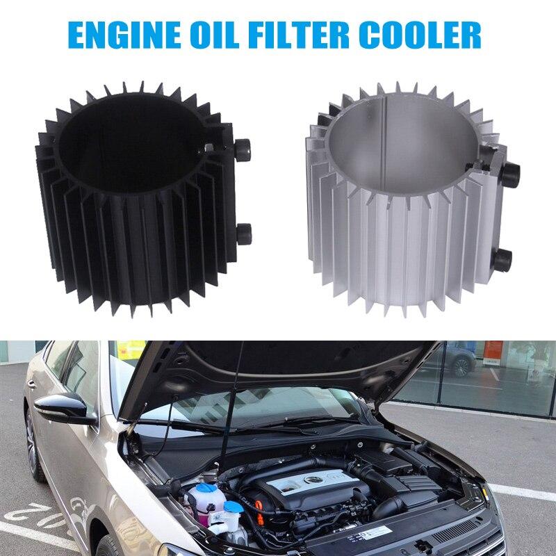 1 Pcs Motoröl Filter Kühler Kühlkörper Abdeckung Cap Billet Aluminium Kit Ef Eg Auto Styling