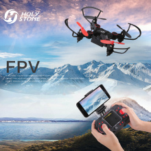Holy Stone HS190W FPV Drone med kamera Mini RC Helikopter Foldbar Pocket Høyde Hold Headless Mode Quadcopter for nybegynnere