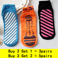 Men and Women Yoga Socks Fitness Dispensing Skid Fingers pattern Cotton solid Ladies Sport Socks yoga pilates socks Super slip