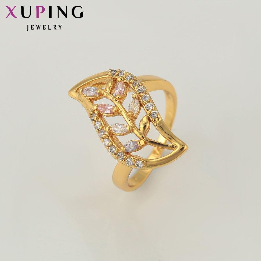 Xuping divat gyűrűk Charm arany színű aranyozott ékszer - Divatékszer - Fénykép 4