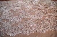 bead lace fabric 1yard