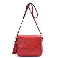 New Design Shoulder Bags Women Small Messenger Bags Ladies Retro Handbag With Tassel Female Crossbody Bag