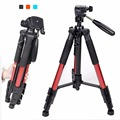 NEW Zomei Q111 Professional Tripod Portable Pro Aluminium Tripod Camera Stand with 3-way Pan Head for Digital SLR Black Red Blue