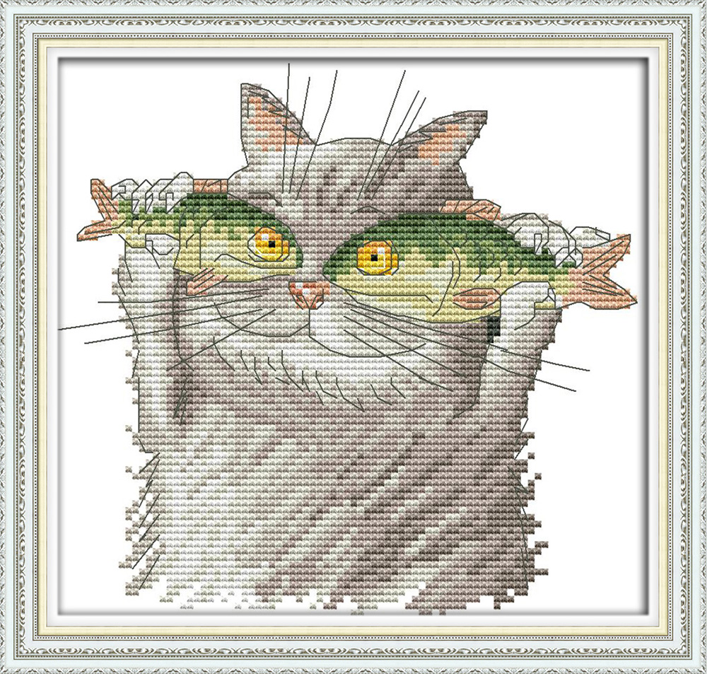 I Love You More Than Quotes: Aliexpress.com : Buy I Love Fish Cross Stitch Kit Aida