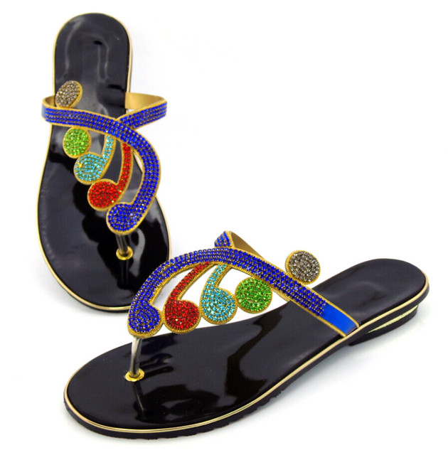 Special Design African Slippers Summer High Heels High Quality African Sandals Heels Pumps Free Shipping !DD1-79