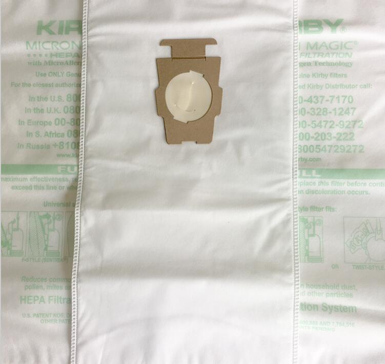 One Pack (5Pcs Included) Universal Bag Suitable For Kirby Universal Hepa Cloth Microfiber Dust Bags For KIRBY Sentrial F/T