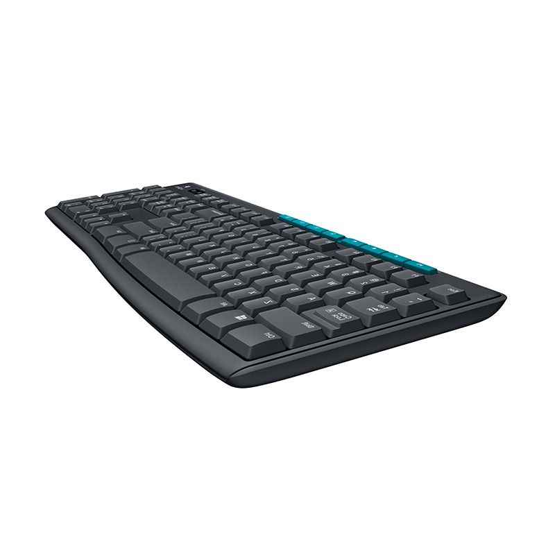 MK275 Logitech Wireless Mouse dan Keyboard Combo Laptop PC Gamer Asli Mini Receiver Ergonomi Gaming Keyboard Mouse Set