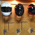 Алюминиевые аксессуары для мотоциклов держатель для шлема вешалка для одежды настенный крючок для пальто шапки шлем стойка Черный