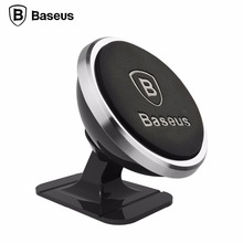 BASEUS Universal Car Phone Holder 360 Degree GPS Magnetic phone holder For Iphone Samsung HUAWEI Magnet Mount Car Holer Stand