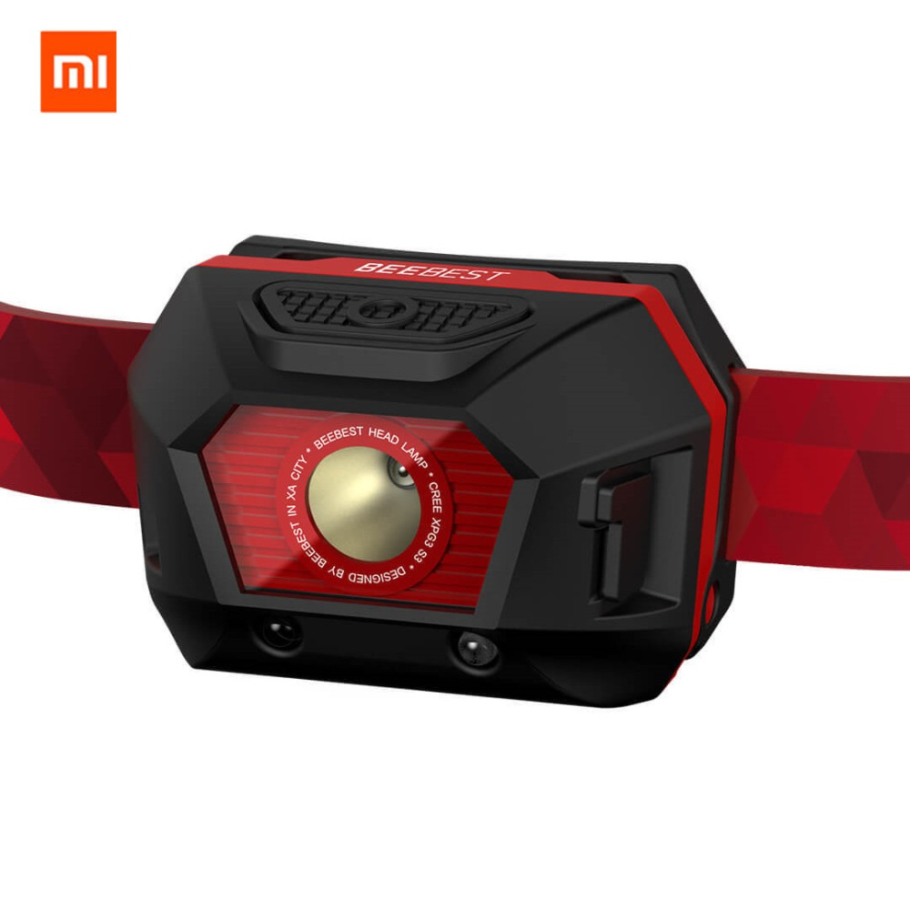Image 2 - New Xiaomi Beebest IP45 Waterproof Headlamp Ultralight Adjustable Head Torch flashlight Night Running Hiking Climbing SOS Light-in Smart Remote Control from Consumer Electronics