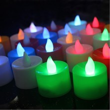 10PCS PURPOSE CANDLE LED decoration christmas carnival festival holiday
