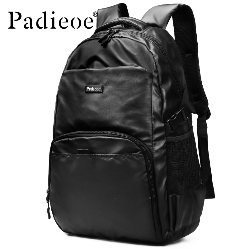 Padieoe Men's Backpack Teenager School Bag for Male High Quality 15 Inches Laptop Mochila Fashion Nylon Women Backpack Bag встроенная техника