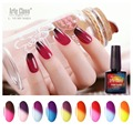 Premium Quality Nail Gel10ml Arte Clavo 24 Colors Choose 1 Piece Temperature Change Color Nail Art Manicure Gel Nail Polish Led