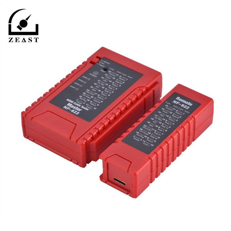 NF-622 HDMI testeur de câble traceur vérifier l'état court ouvert et croisé de l'ester de câble HDMI et du Test HD wWire