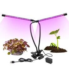 Светодио дный светать полный спектр fitolampy красные, синие светодио дный завода светать лампы с зажимом растет лампы для рассады цветочных растений