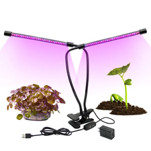 LED Grow Light Full Spectrum Fitolampy Red Blue Led Plant Grow Light Lamps With Clip Growing Lamp For Seedlings Flower Plant