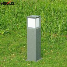 Outdoor waterproof villa garden lights, garden / park outdoor lawn light, E27 lamp holder