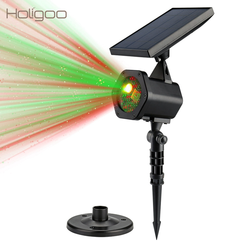 holigoo solar powered laser light outdoor waterproof. Black Bedroom Furniture Sets. Home Design Ideas
