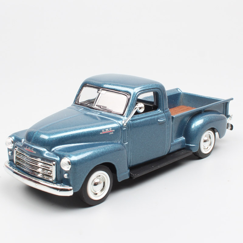 1/43 Scale road signature classic GMC Pickup truck light duty cargo van 1950 die cast & <font><b>cars</b></font> <font><b>models</b></font> toys miniatures boys gifts image