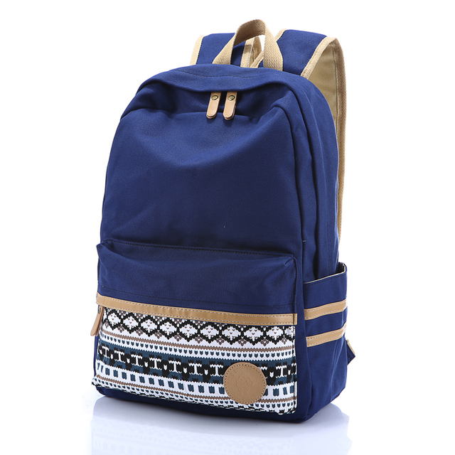 Free Shipping 2015 Hot Sale Preppy style canvas backpack old school big capacity student school bag casual travel backpack