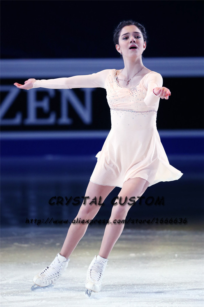 Custom Figure Skating Dresses Kids Graceful New Brand Ice Skating Dresses For Competition DR4481