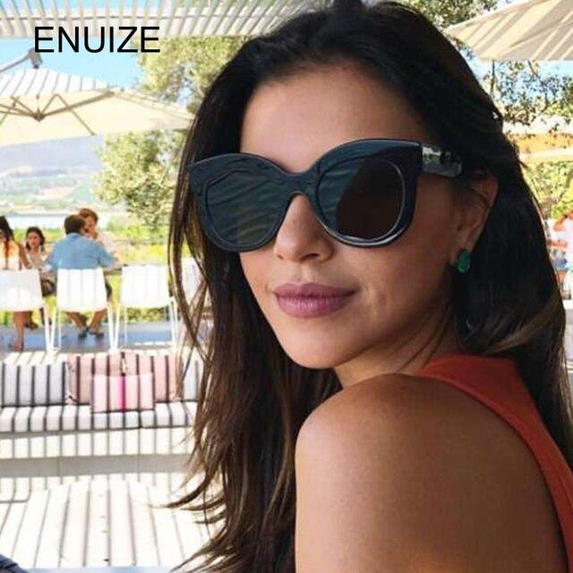 1954c7289 Brand Designer Cat Eye Sunglasses Women Oversized CatEye Style Driving Sun  Glasses for Women 2018 Shades Eyewear UV400 Glasses