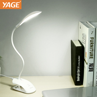 YAGE Led Table Lamp Reading Lamp For Study Usb 14 Led Desk Lamp Clip Led Light