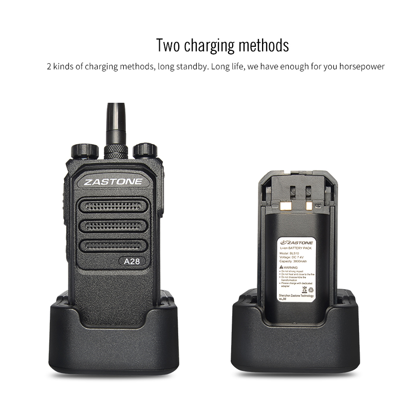 Zastone A28 10W Professional Long Range Walkie Talkie 10km UHF - Walkie talkie - Foto 2
